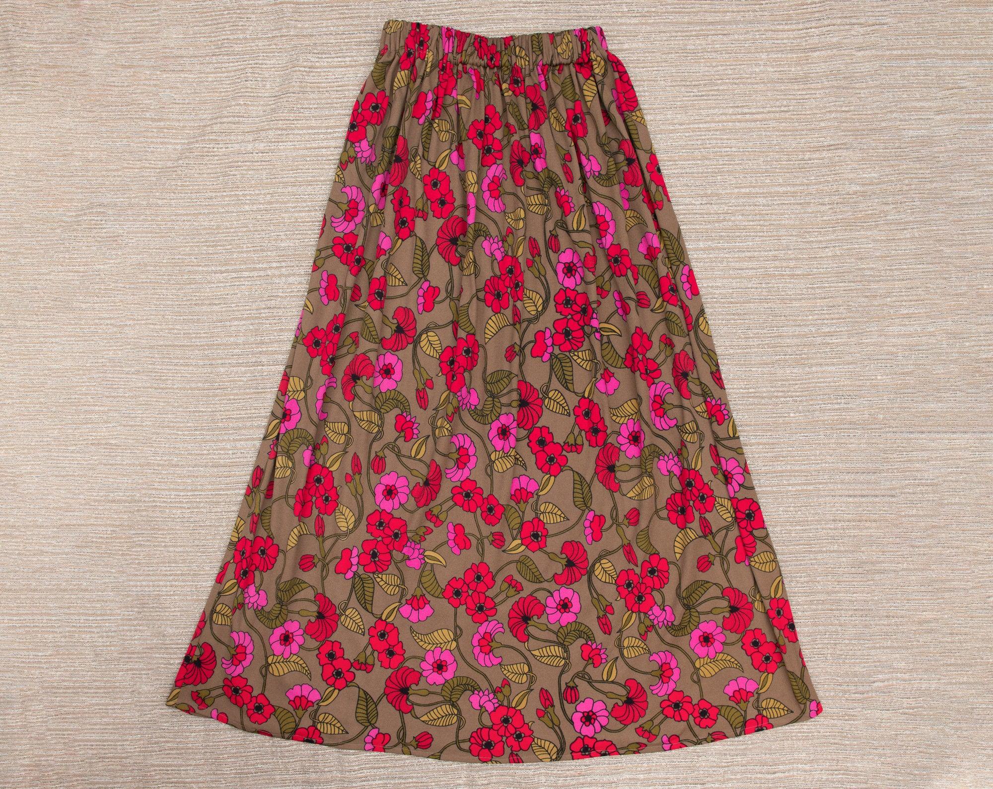 Handmade Hippy Boho Peace Skirt Bag